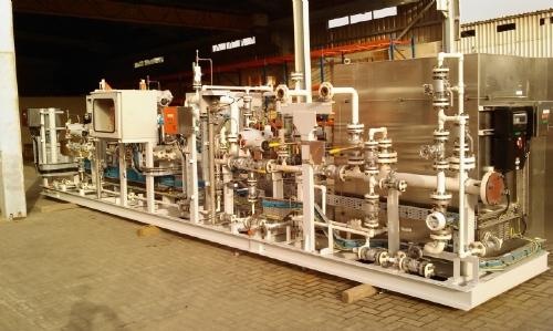 36 Gas Range >> Compact Equipment Development Company > Package > Skid Metering > Gas Metering System